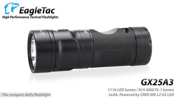 EagleTac GX25A3 1116 Lumens LED Torch