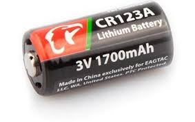 Eagletac CR123A Battery