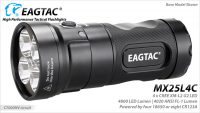 EagleTac MX25L4C Kit Model 4800 lumens