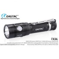 EagleTac TX3L Pro MKII Rechargeable (3000 Lumens)
