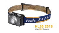 Fenix HL30 V18 - 300 Lumens Rechargeable LED Headlamp -Blue