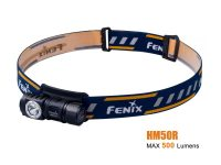 Fenix HM50R - 500 Lumens Rechargeable LED Headlamp