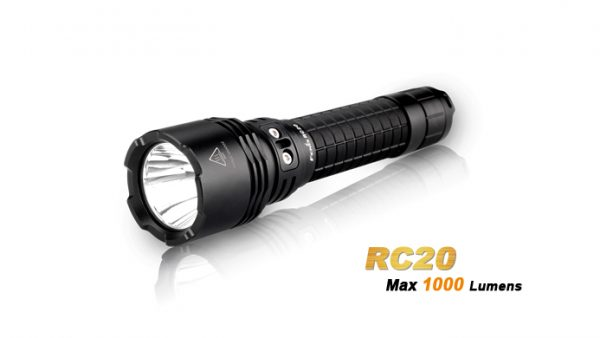 Fenix RC20 - 1000 Lumens Rechargeable LED Torch