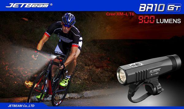 JETBeam BR10 GT – USB Rechargeable Bike Light