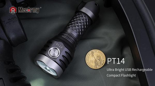 Mecarmy PT14 600x333 LED torch