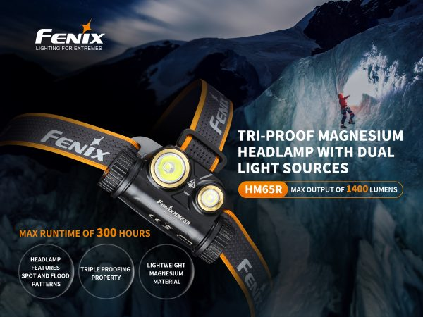 Fenix HM65R Head Lamp