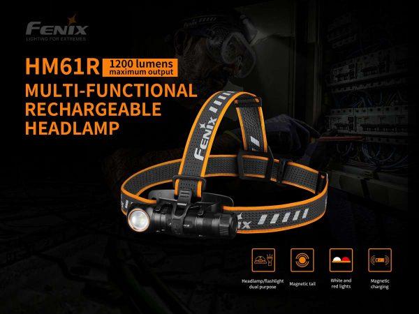 Fenix HM61R 1 head light