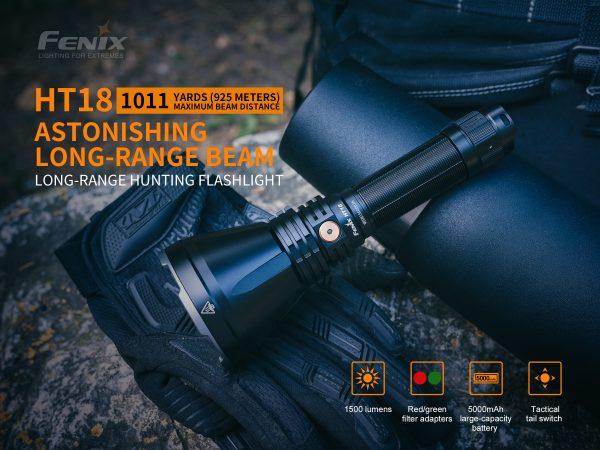 Fenix HT18 LED Torch
