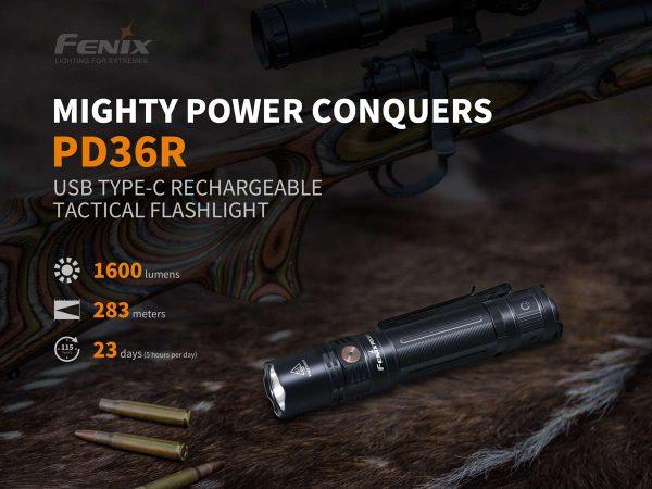 Fenix PD36 LED Hunting Torch