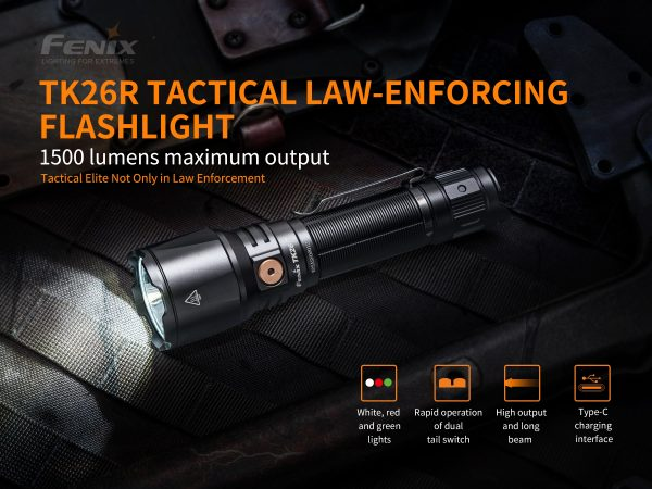 Fenix TK26R LED torch